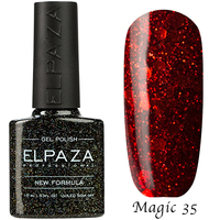 "Гель-лак Elpaza Magic Glitter ""Страсть"" 35 (10 мл)"