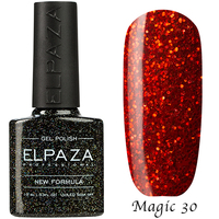 "Гель-лак Elpaza Magic Glitter ""Везувий"" 30 (10 мл)"