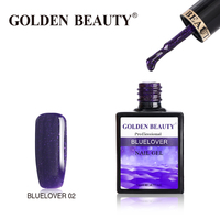 "Гель-лак Golden Beauty ""BlueLover"" 02"