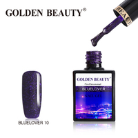 "Гель-лак Golden Beauty ""BlueLover"" 10"