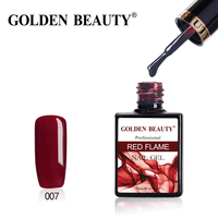 "Гель-лак Golden Beauty ""Red Flame"" 007"