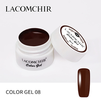 Lacomchir Color Gel 08, 8 мл
