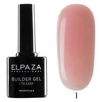 Builder Gel Elpaza it's easy № 01, 15 мл